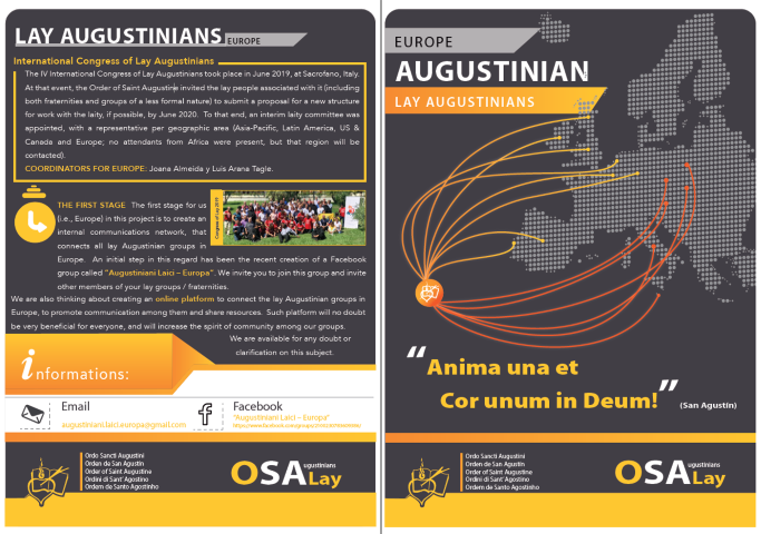 flyer Lay Augustinians